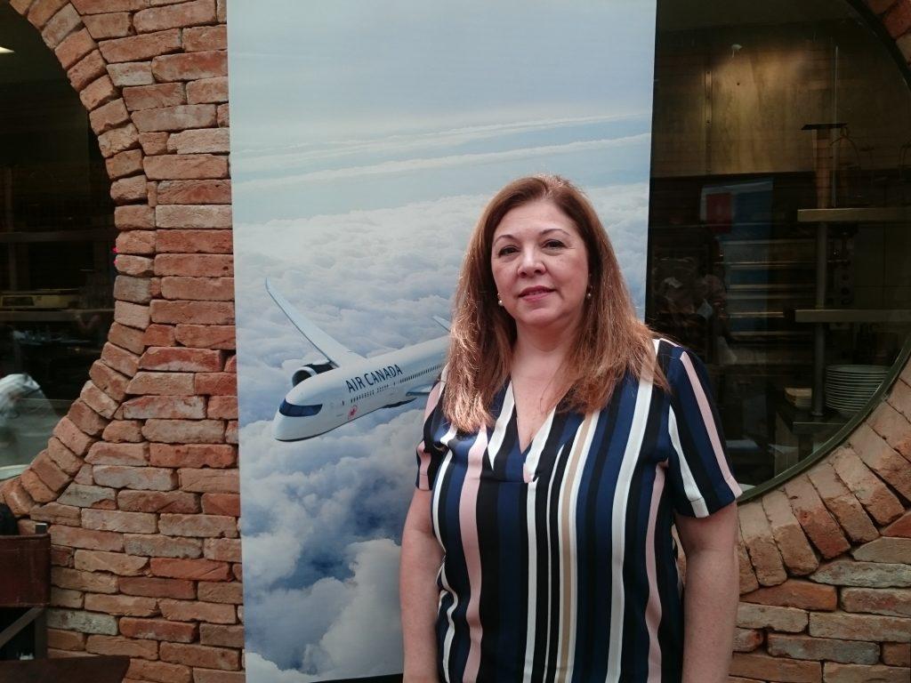 Rosana Carvalho, da Air Canada