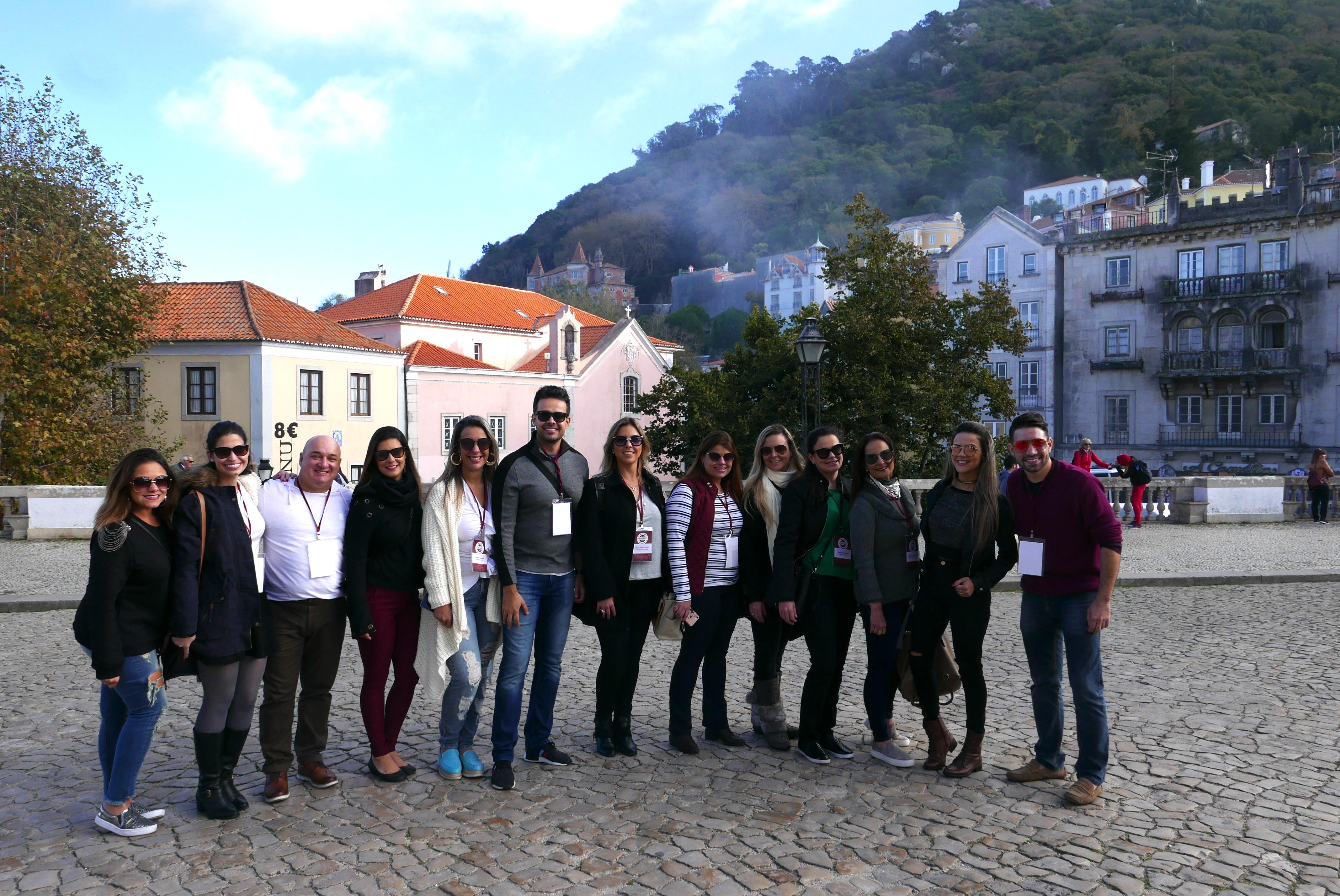 Os agentes de viagem de Minas Gerais, com Hugo Lagares, em Sintra