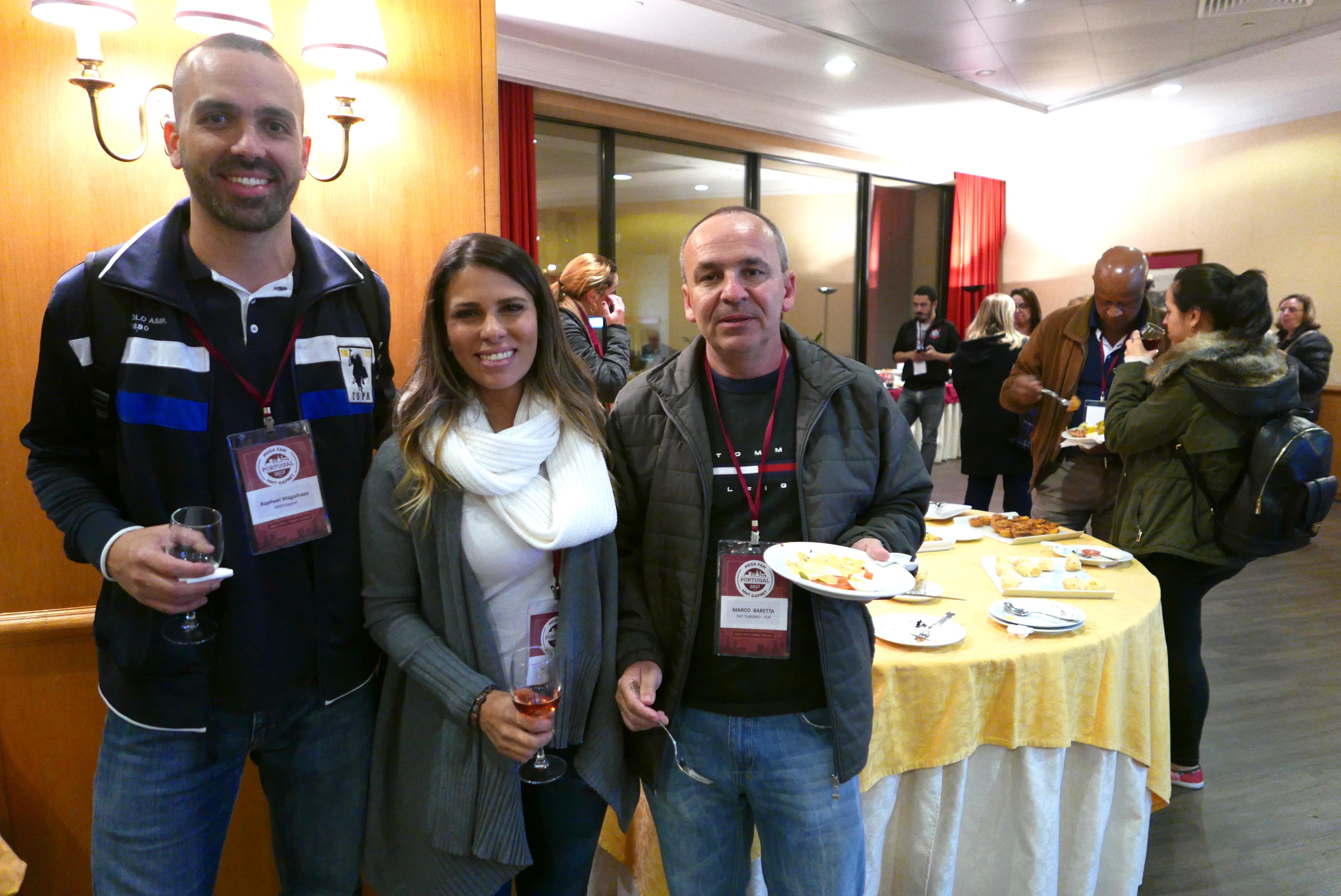 Raphael Magalhães, Jamile Bufrem, e Marco Baretta