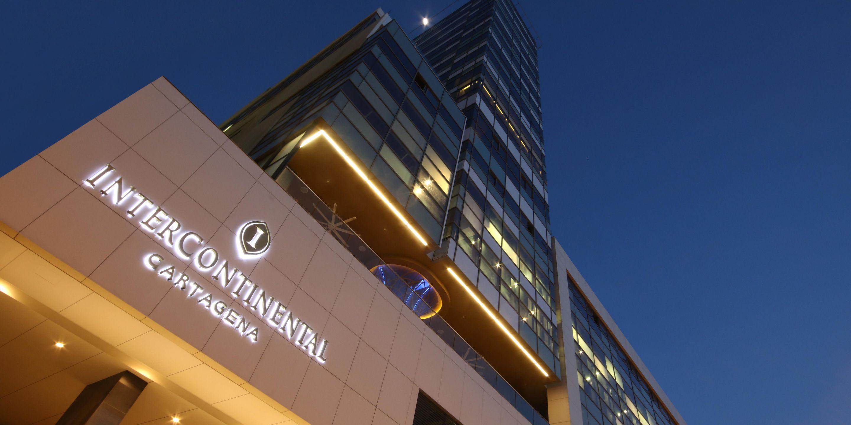 Fachada do Intercontinental Cartagena (Fotos: Divulgação)