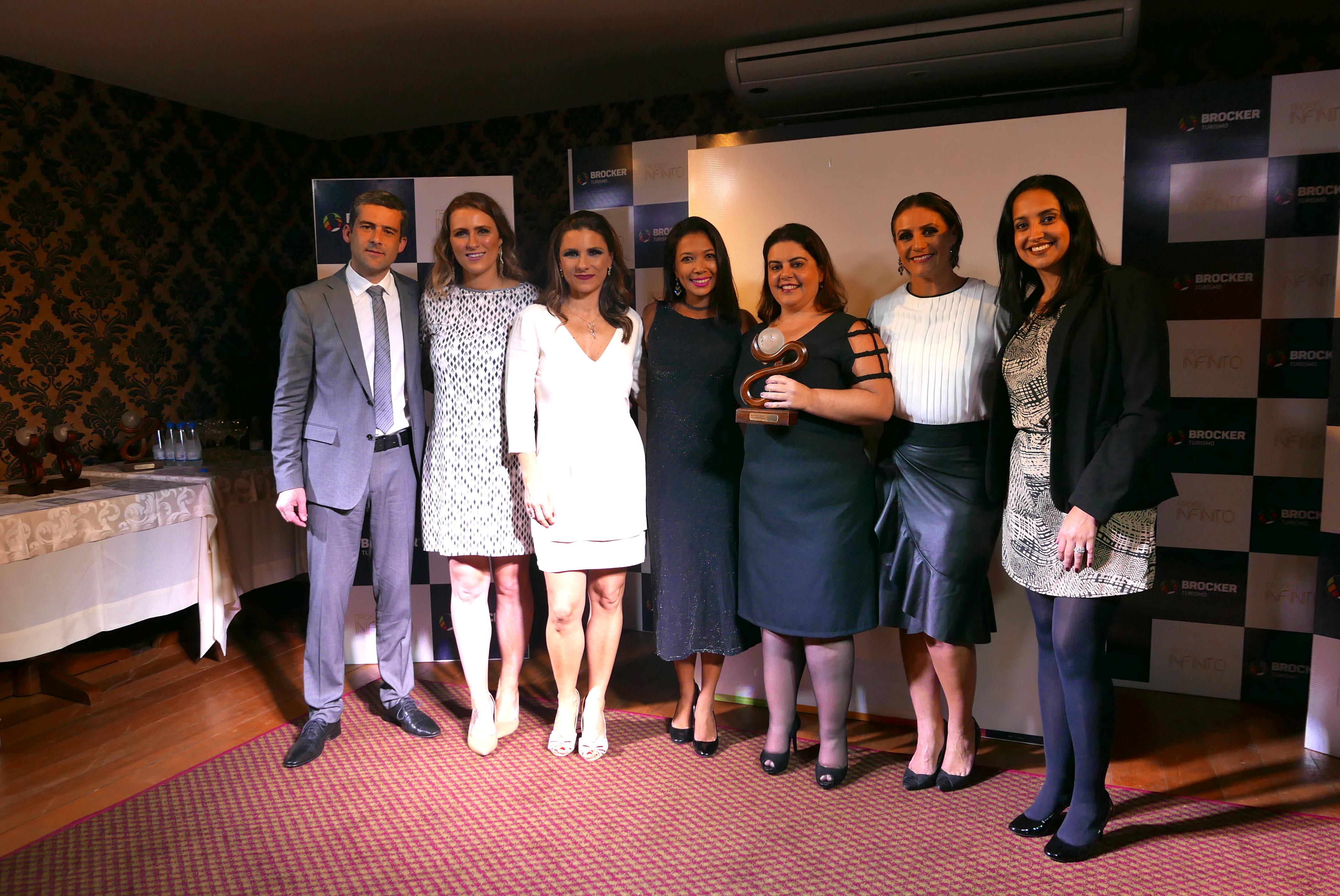3o Lugar = Natalia Carolina e equipe, pela Latam Travel