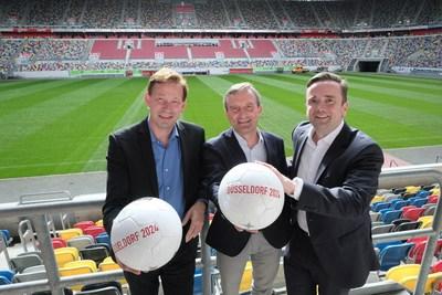 Düsseldorf já está na torcida para receber a Copa da UEFA