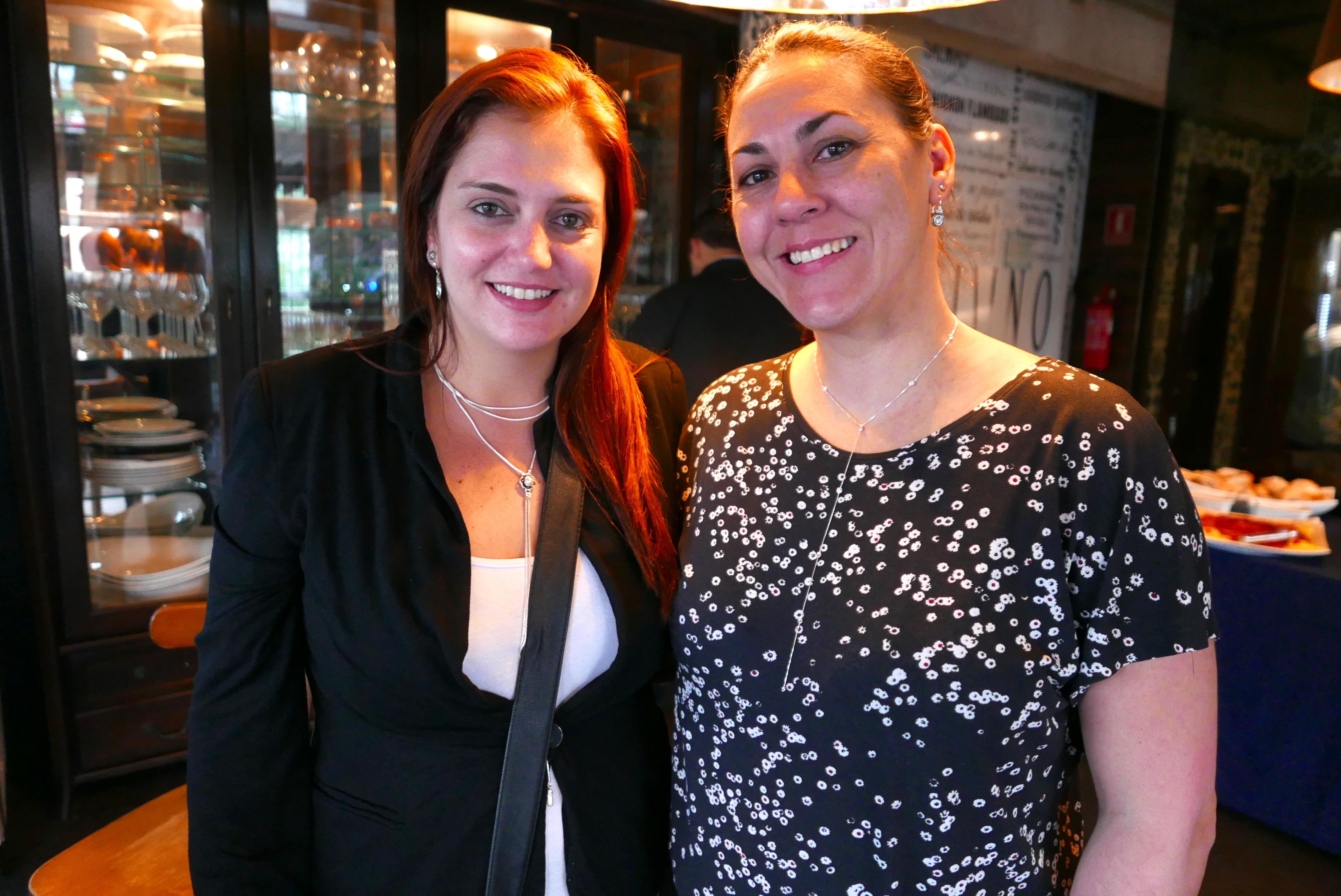 Ana Elisa Facchinato e Lizandra Pajak, da Aviareps
