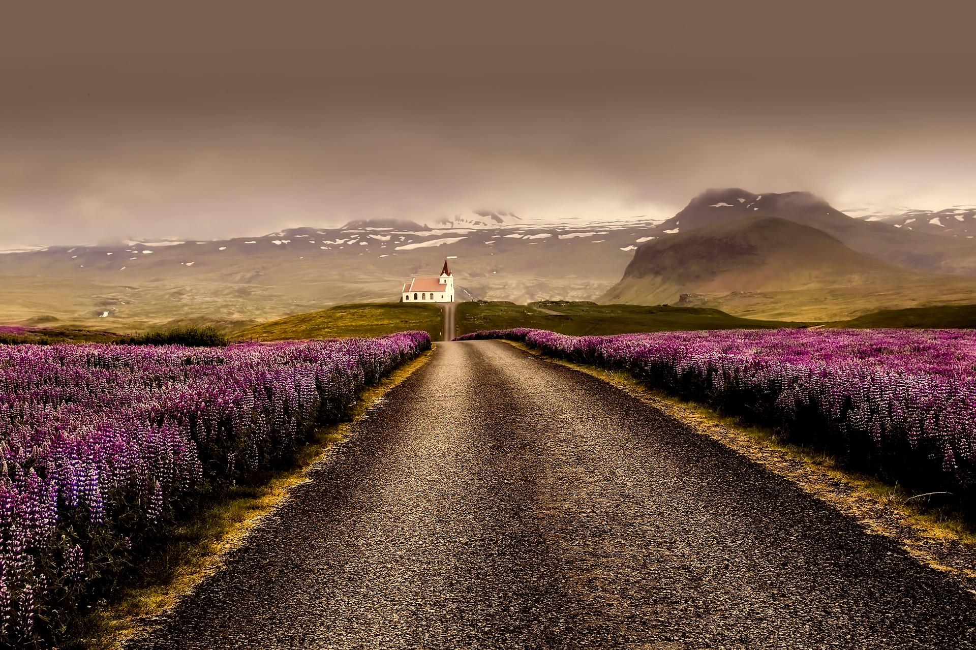 A Islândia é famosa pelos cenários autênticos e naturais
