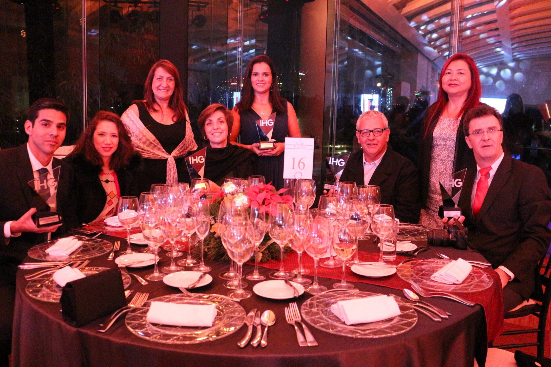 A mesa da mídia brasileira no Gala Latinoamericana IHG 2017