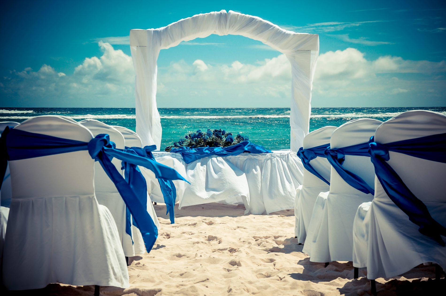 Além das férias, os resorts Oasis são também procurados para a realização de casamentos e lua de mel