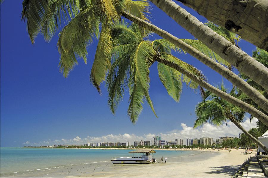 O belo litoral urbano de Maceió (Foto: Divulgação)