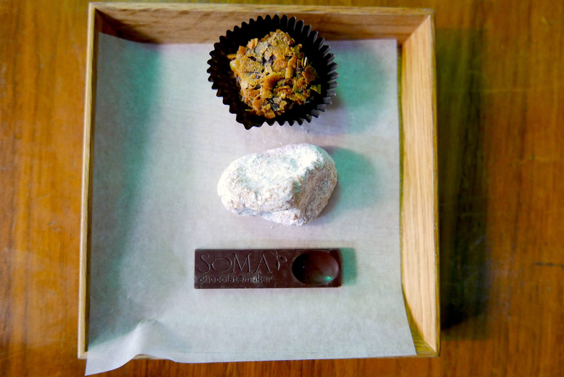 Degustação no Soma Chocolatemaker