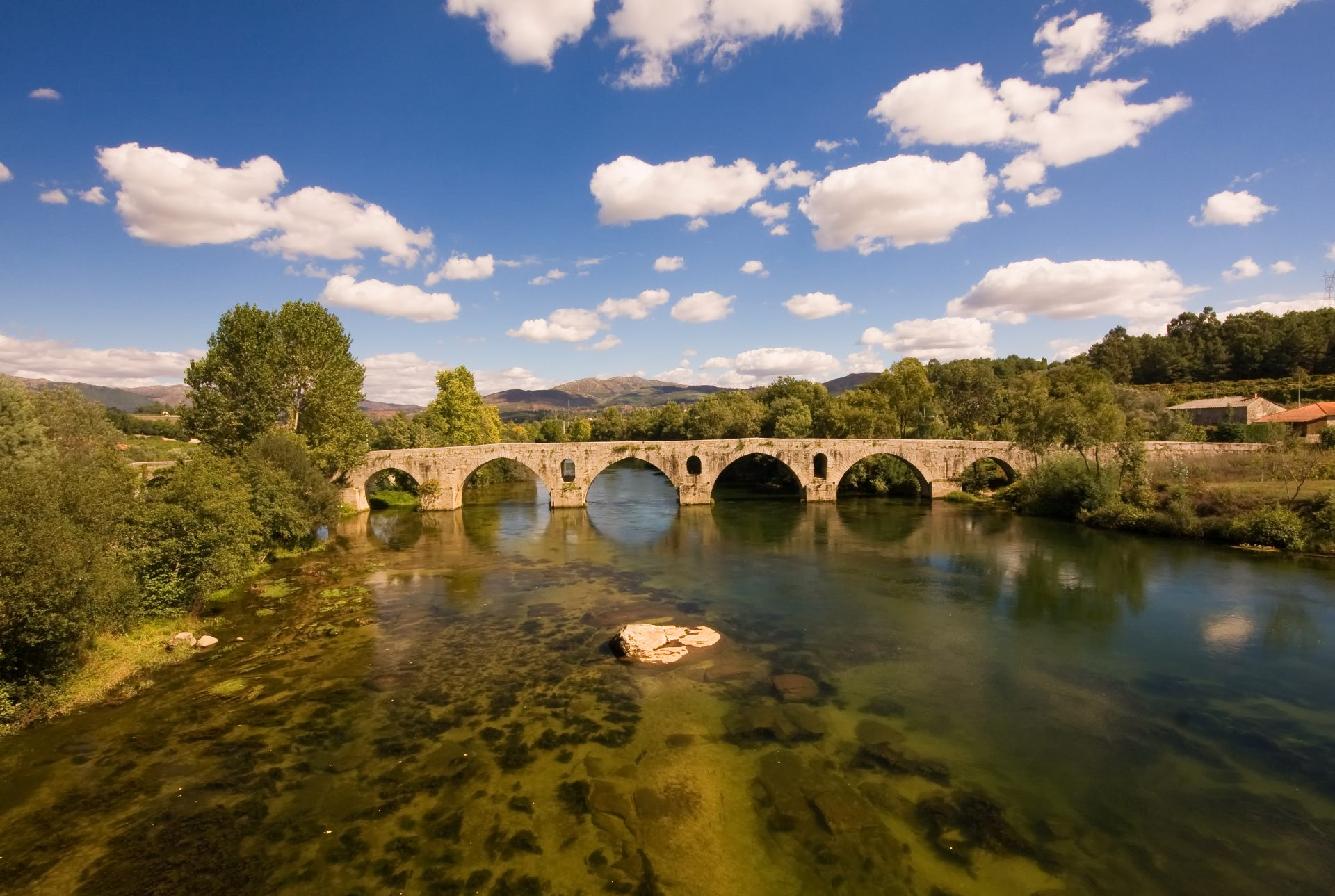 Aqueduto romano de Braga