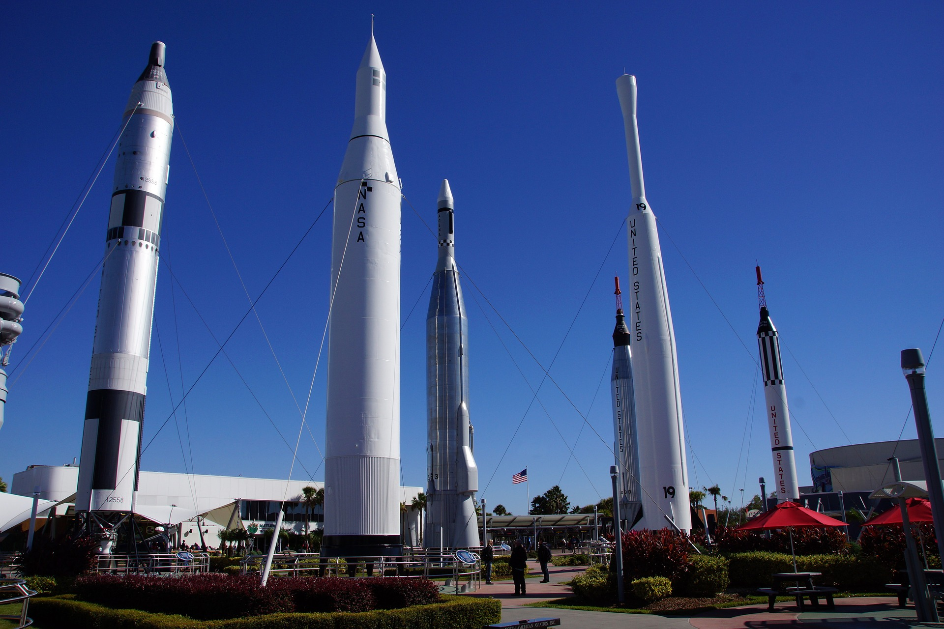Foguetes no Kennedy Space Center