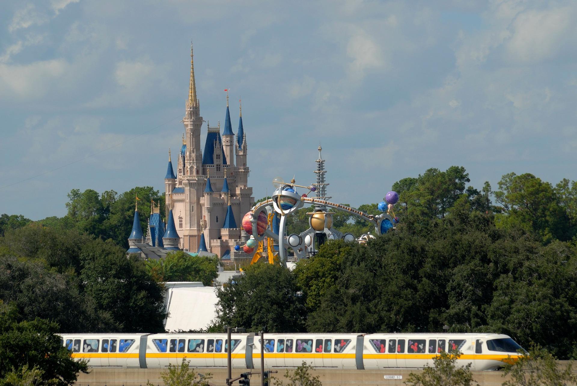 Cenário do Magic Kingdom (Fotos: Divulgação)