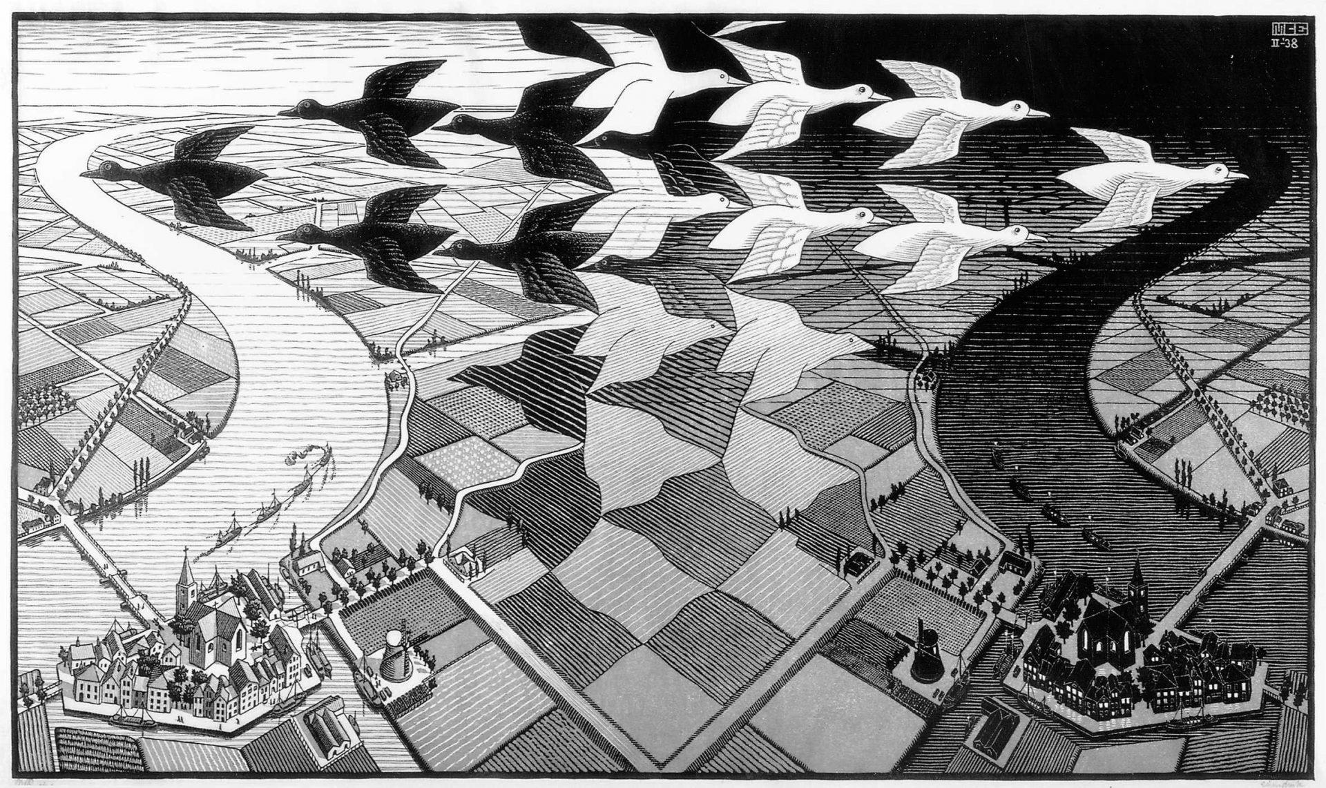 Trabalho do artista holandês M. C. Escher