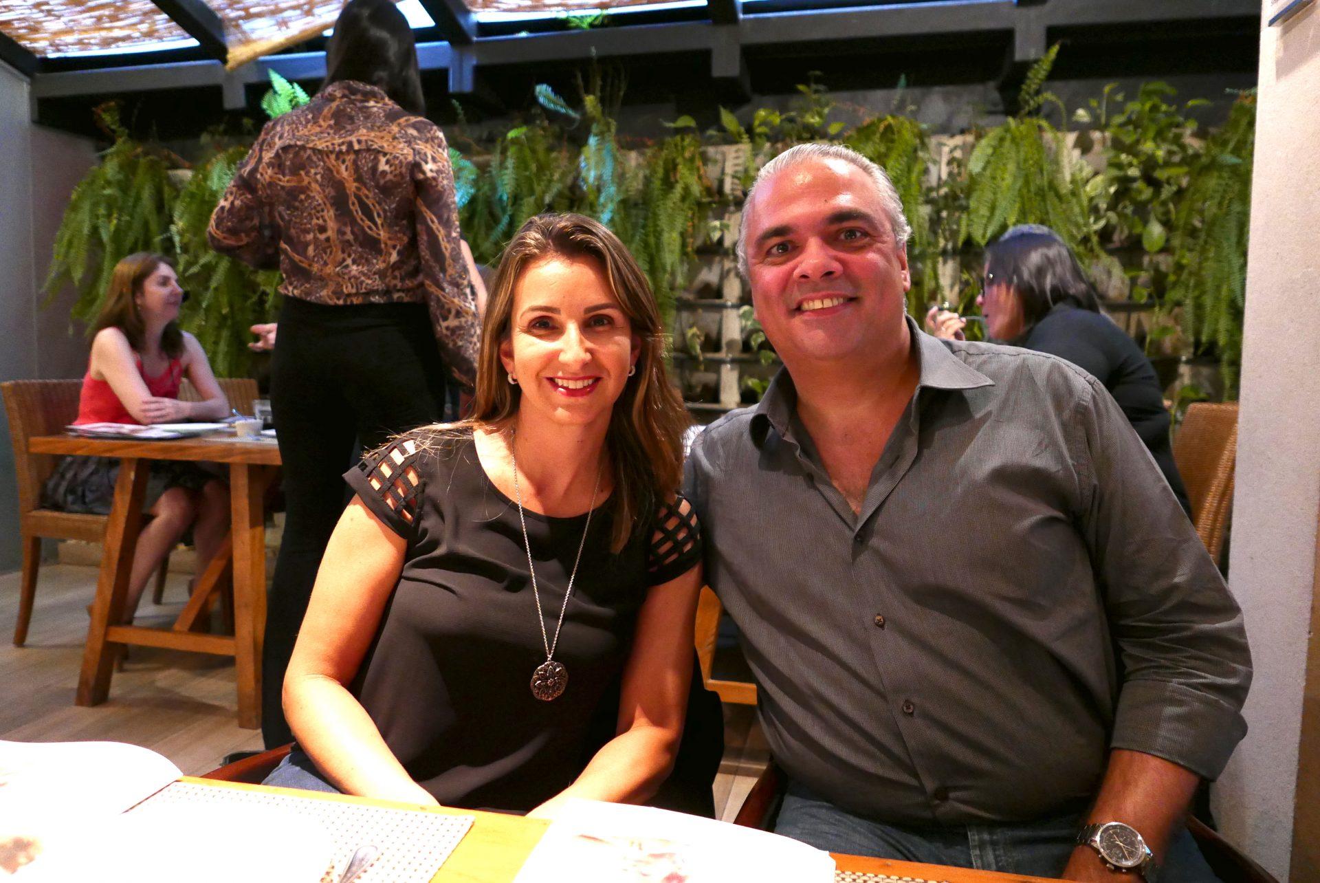 Aline Hollerbach e Rodrigo Baía, da Terra Brazilis