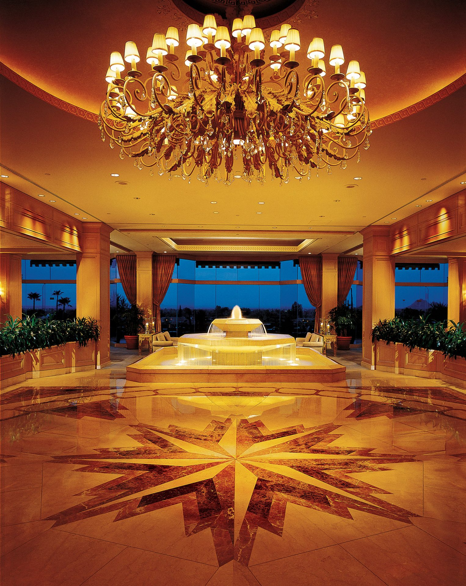 Entrada do lobby do The Phoenician
