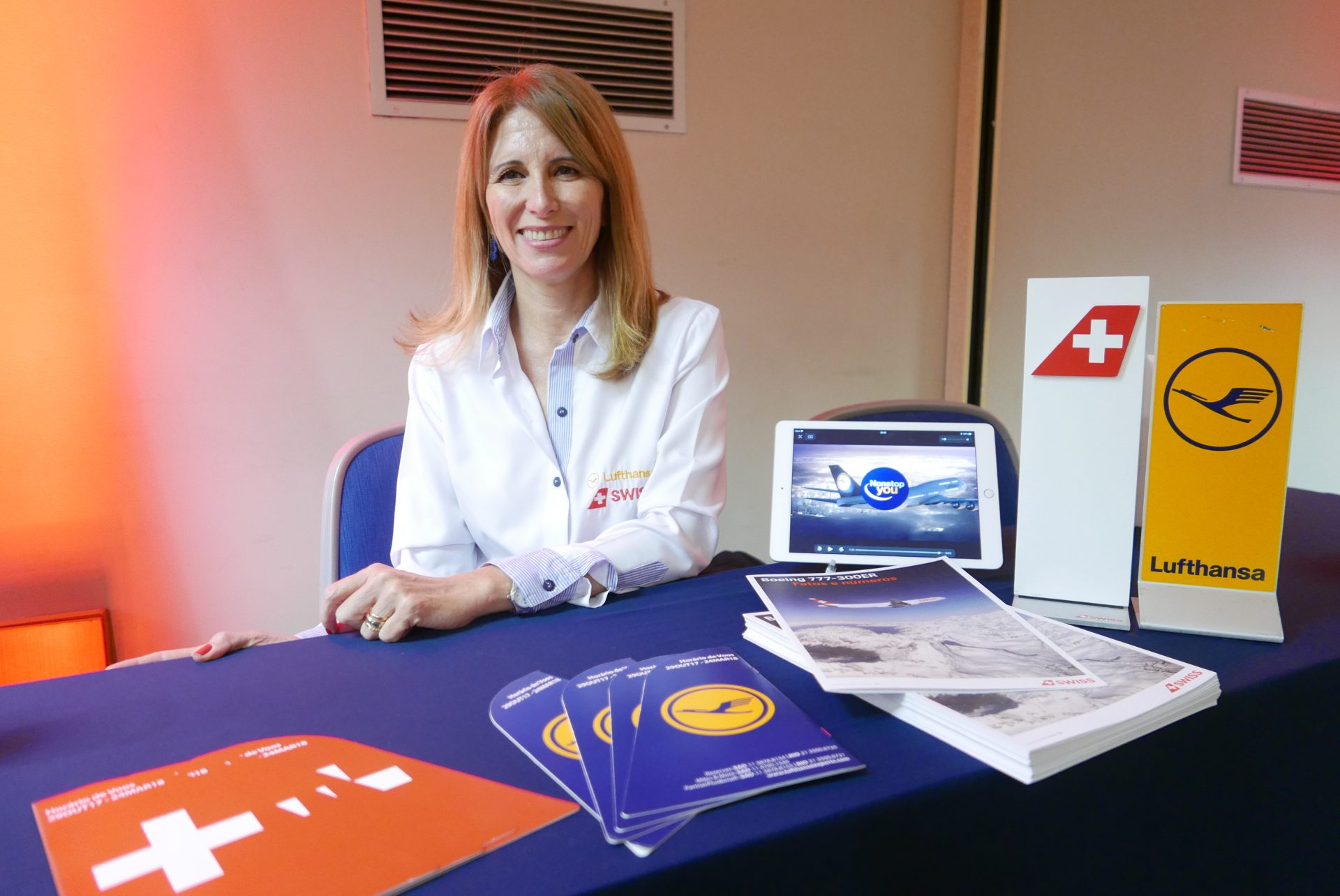 Cristina Rache, executiva de contas do Lufthansa Group