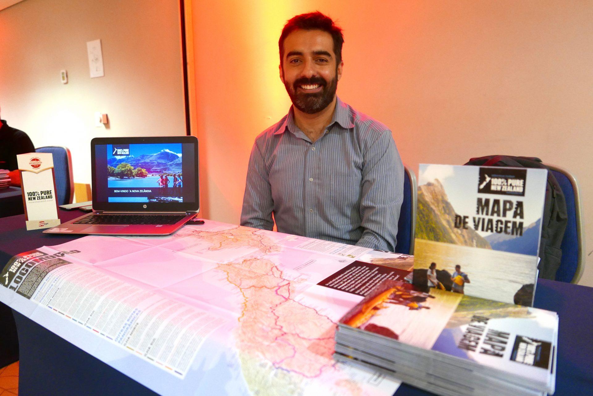 Marco Marques, executivo de desenvolvimento de mercado do New Zealand Tourism
