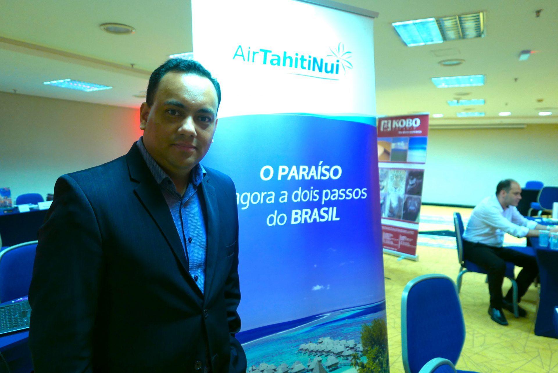 Josue Silva, executivo de vendas da Air Tahiti Nui