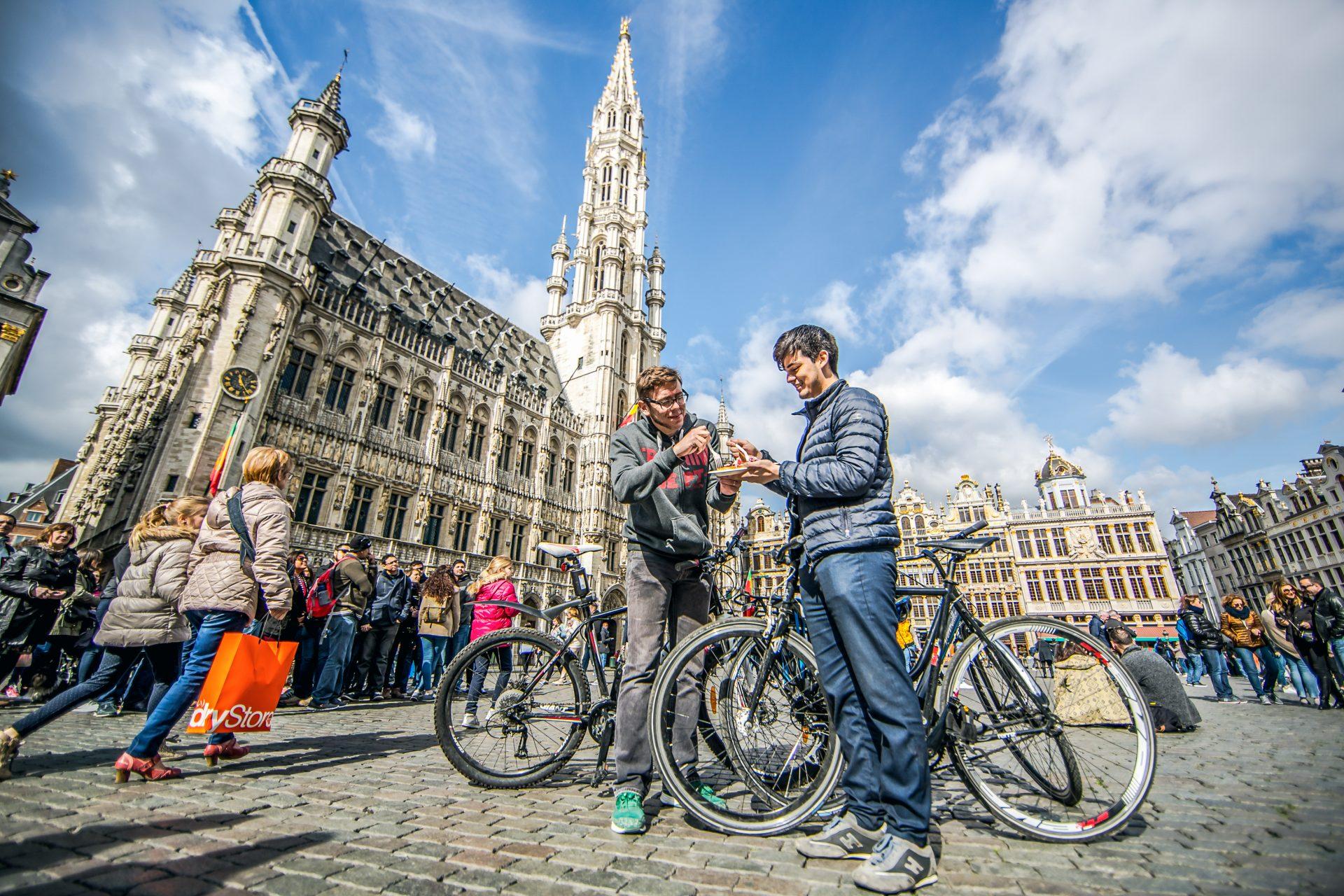 Grand-Place, a praça que é um dos cartões postais de Bruxelas (Foto: © visit.brussels/Eric Danhier)