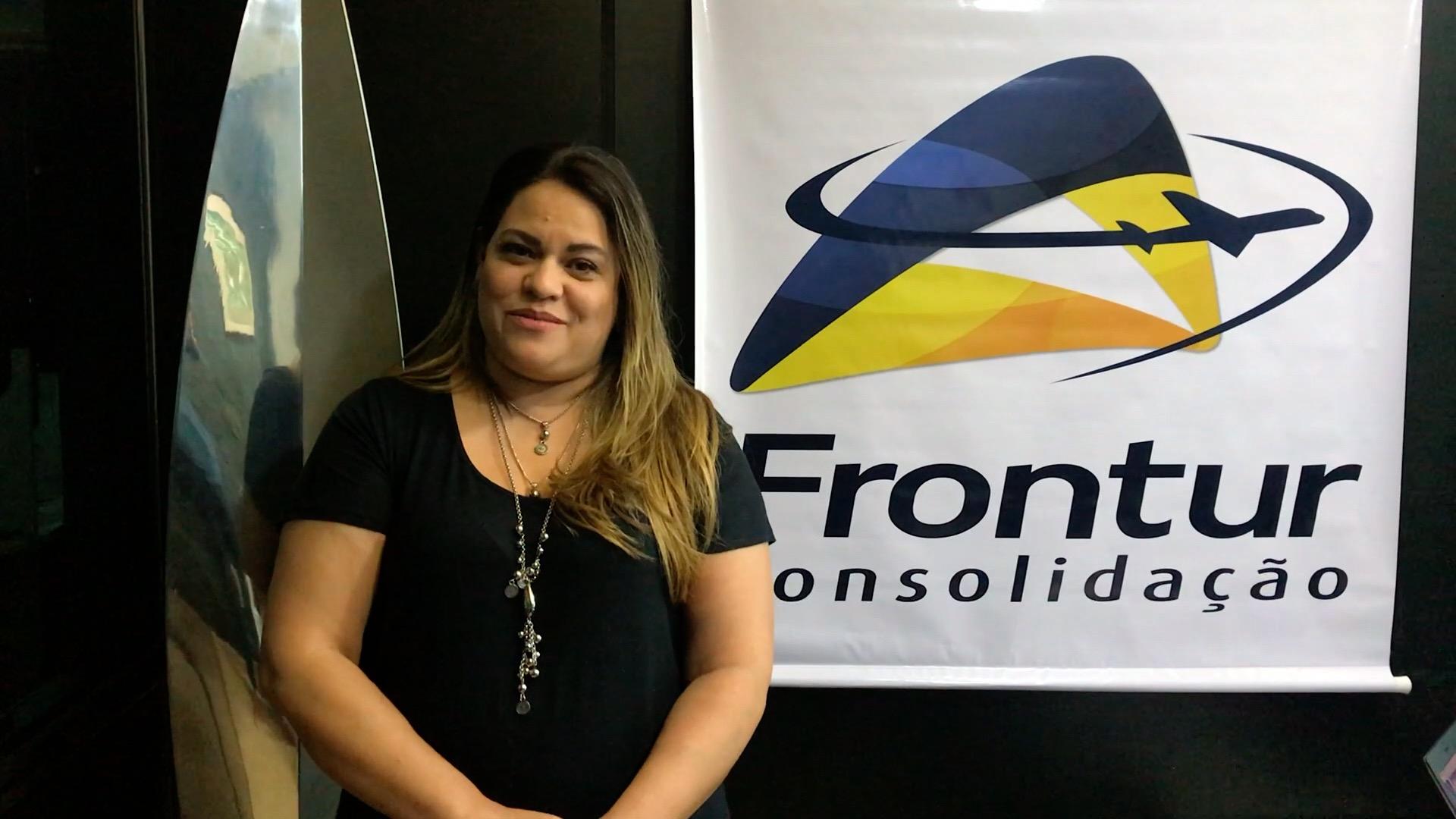 Luciana Sakamoto, gerente operacional da Frontur Consolidação-BHZ