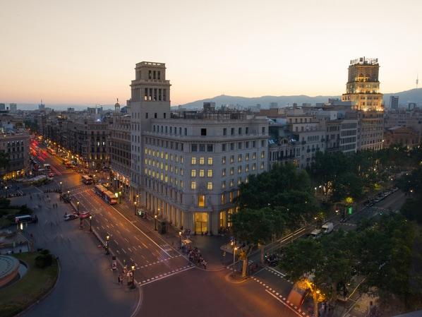 Fachada do Iberostar Paseo de Gracia, em Barcelona (Foto: Divulgação)