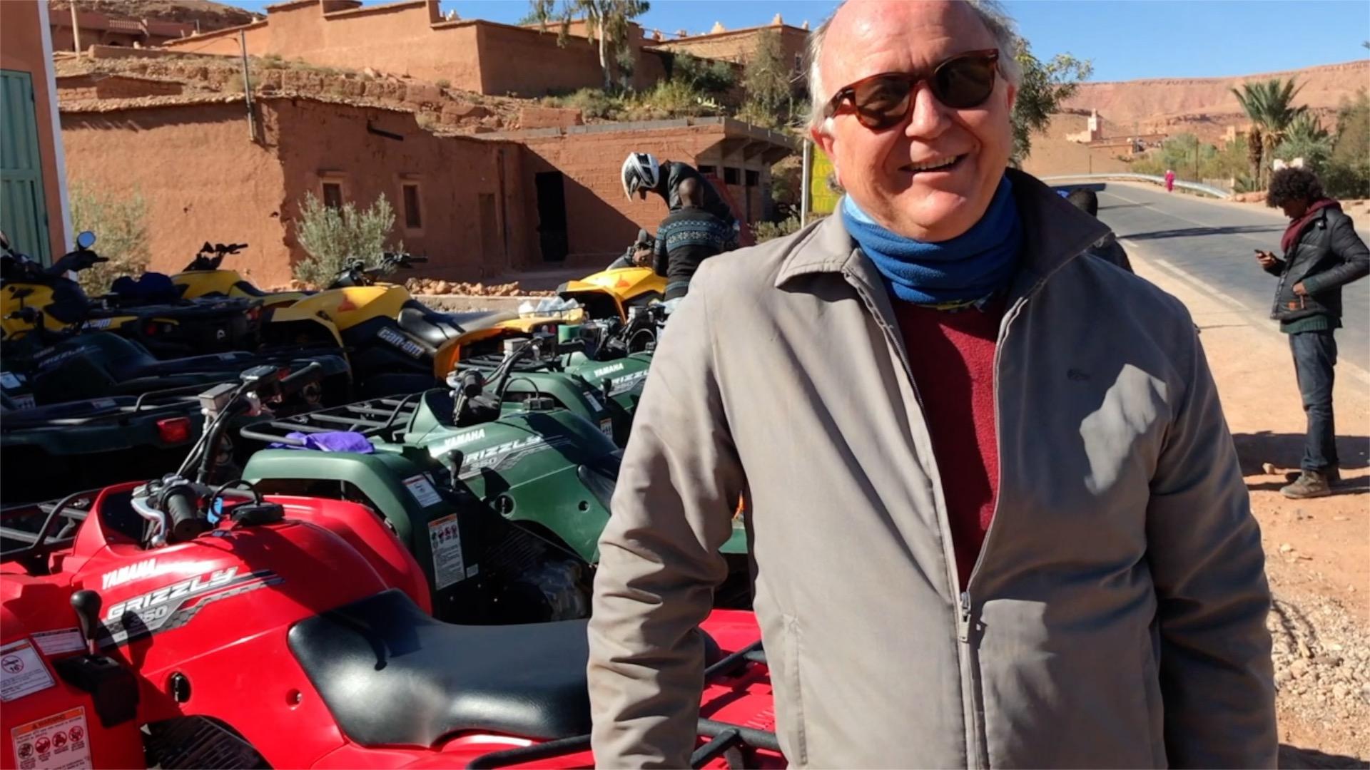 James Giacomini, gerente de Produtos Europa & Exótico participou do Famtour MICE Marrocos, promovido pela Hello Brazil + KTI Voyages