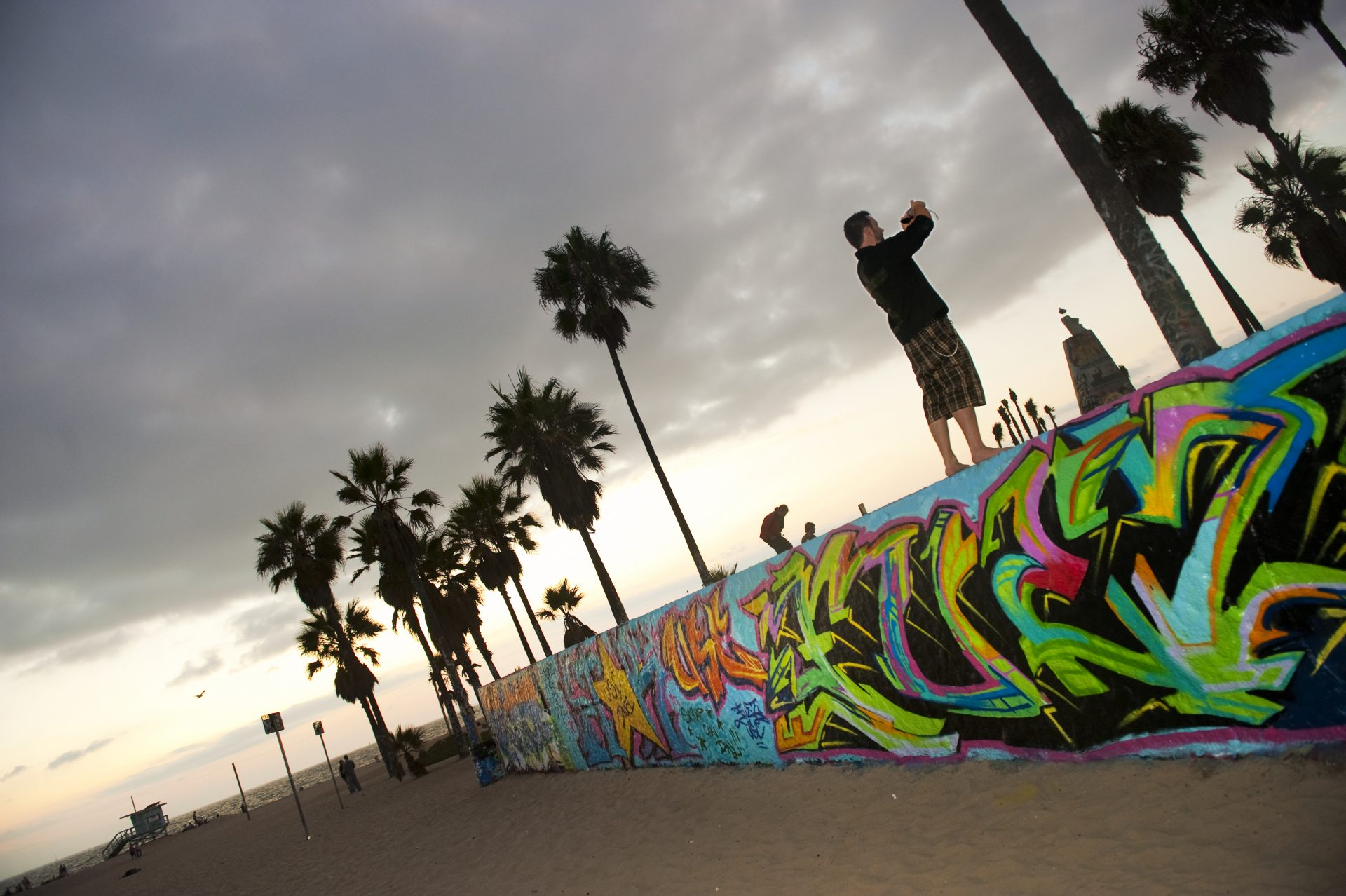 Venice Beach, onde se encontram todas as tribos