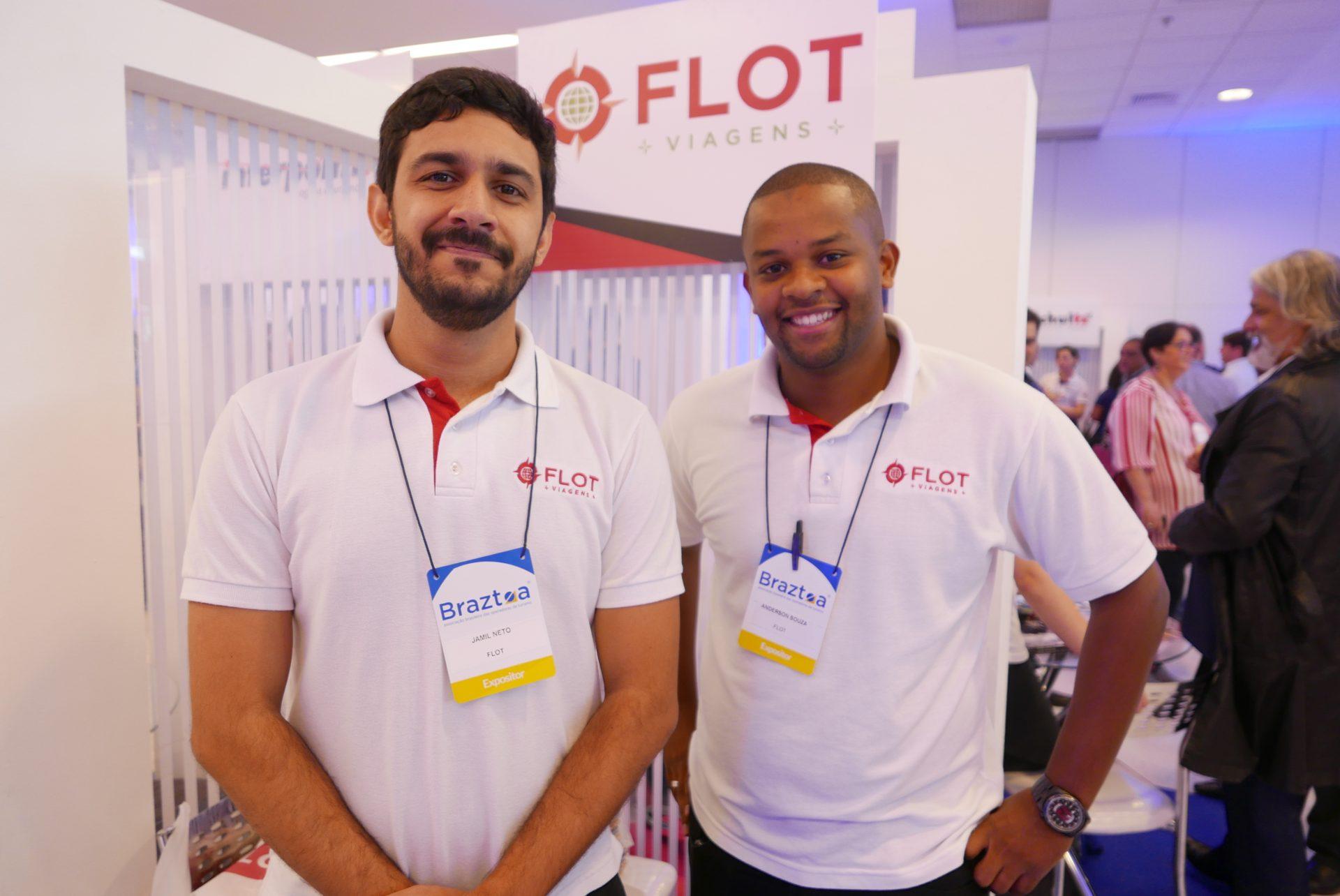 Jamil Neto e Anderson Souza, da Flot