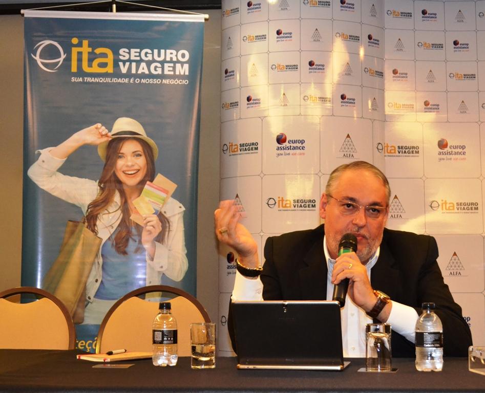 Agnaldo Abrahão, CEO do ITA Seguro Viagem