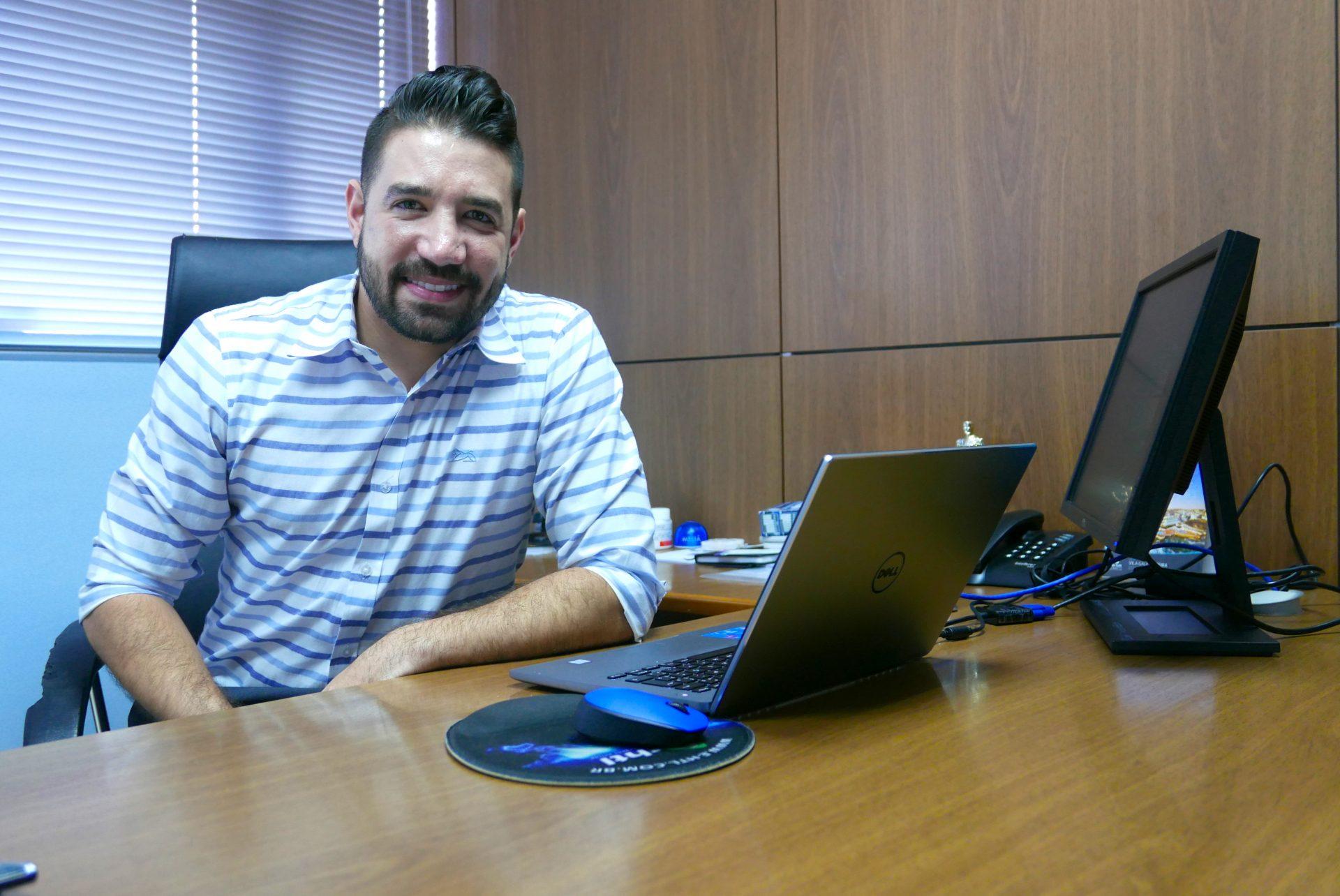 Hugo Lagares, gerente da Visual Turismo MG