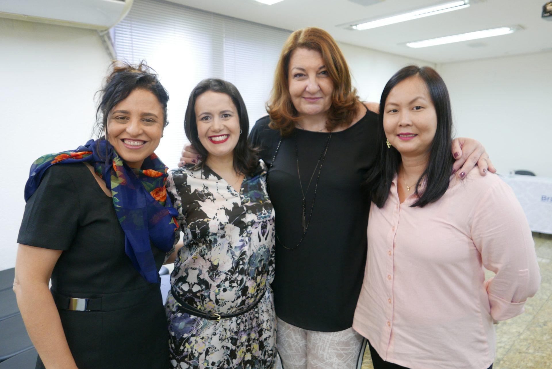 Monica Samia + Juliana Assumpção + Magda Nassar + Aline Haranaka = Braztoa e Aviesp em parceria para o Encontro Braztoa e Aviesp 2018