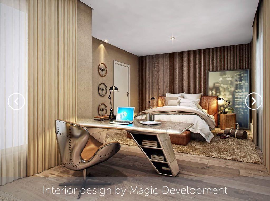 Interior de uma das residências Magic Development