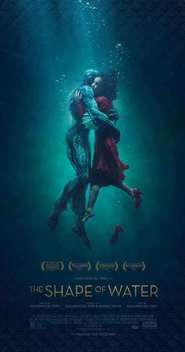 Cartaz do filme The Shape of Water (Fox Searchlight/Divulgação)