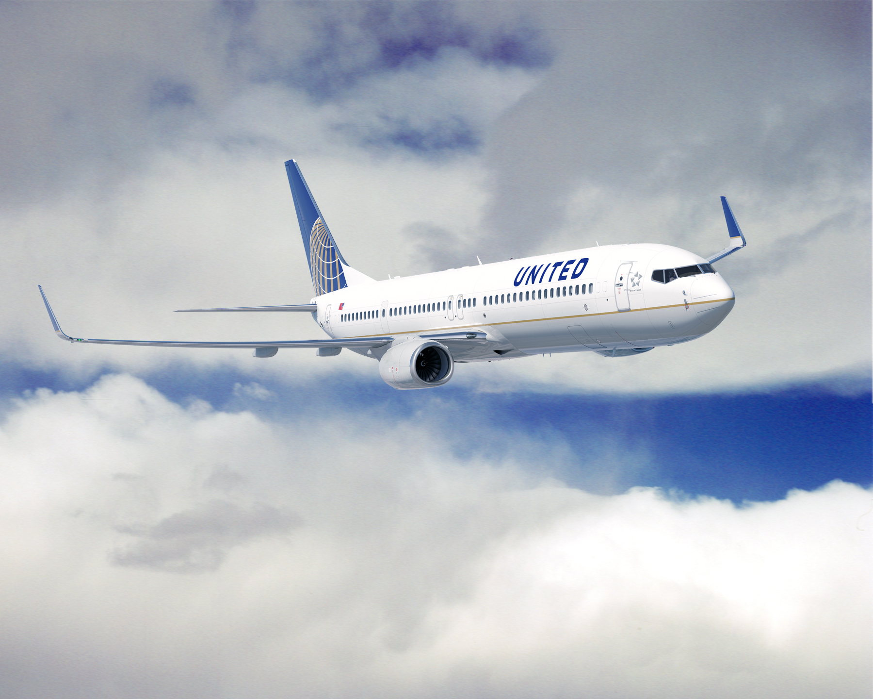 Avião United Airlines