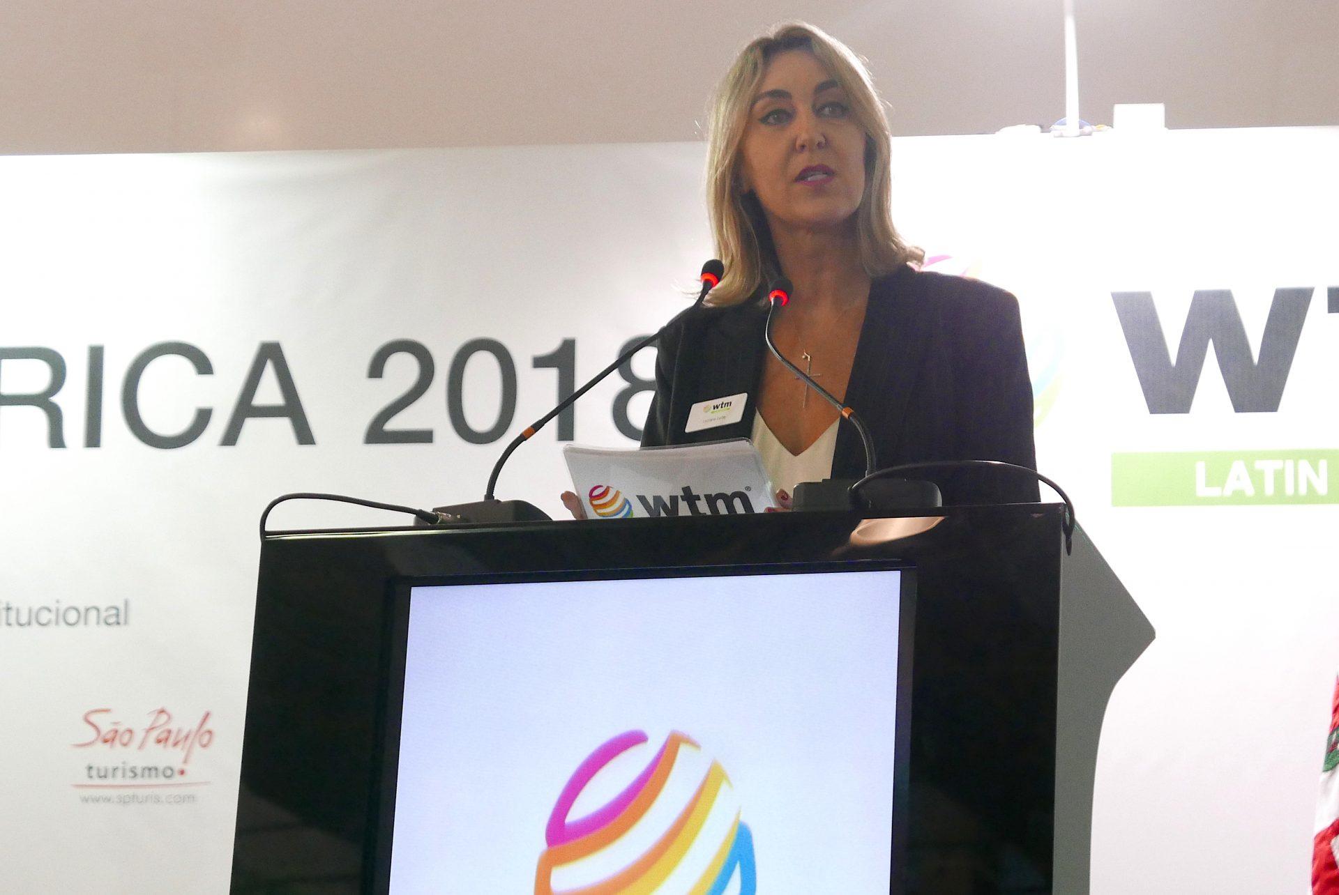 Luciane Leite, diretora de eventos da WTM LA