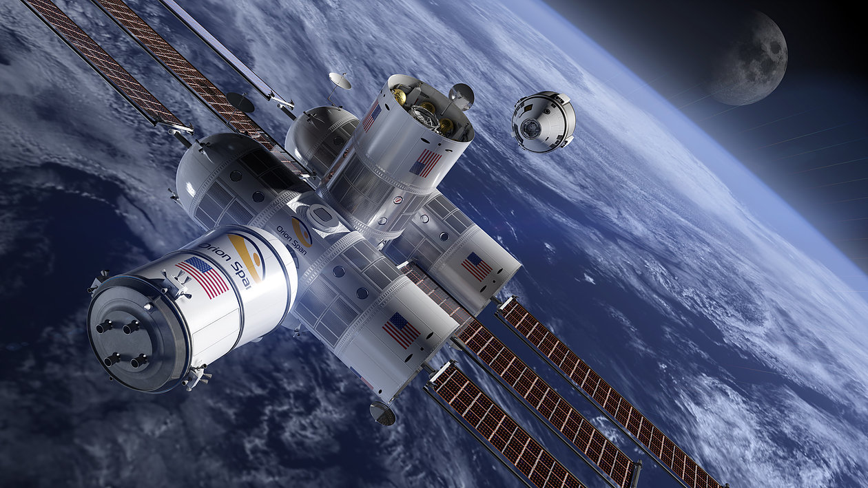 Estação Espacial Aurora