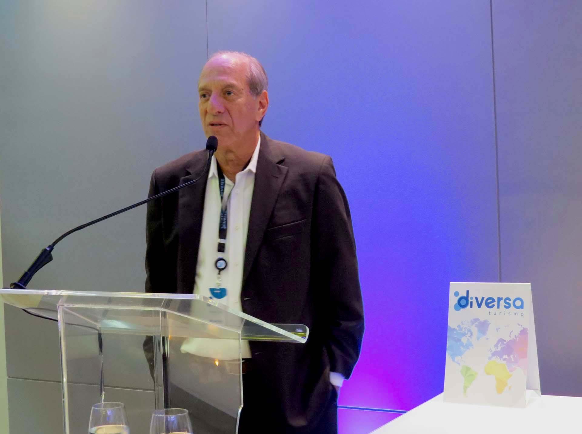 Arnaldo Franken, CEO da Diversa Turismo apresenta o modelo de negócios da operadora, diferente de tudo que existe no mercado