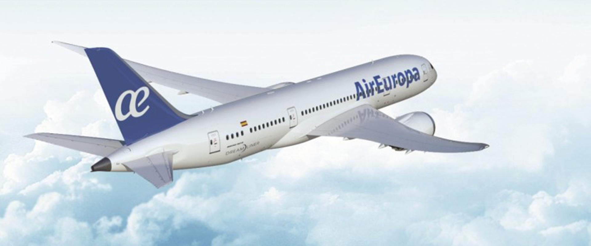 Avião Air Europa