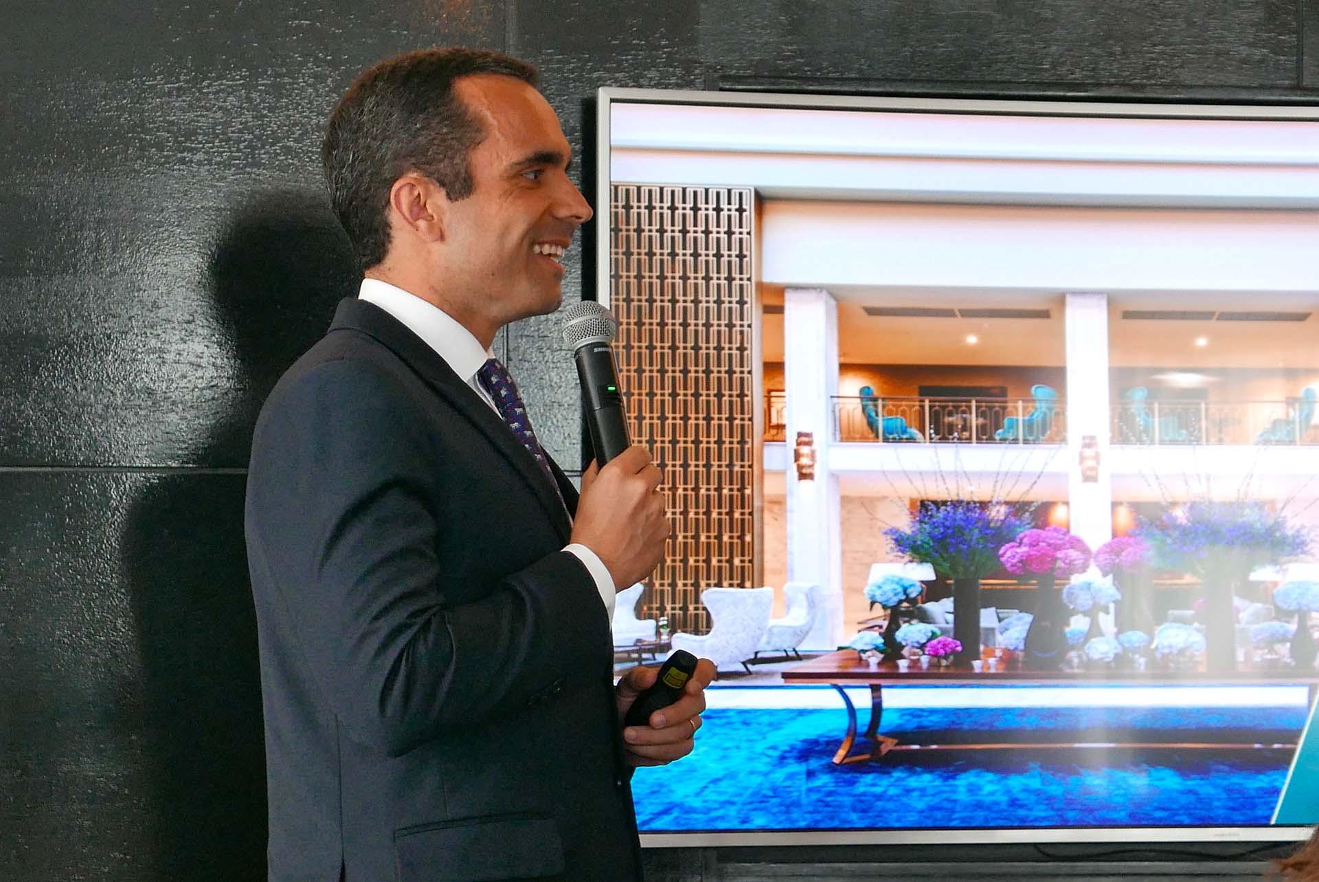Miguel Garcia, diretor geral do Tivoli Avenida Liberdade