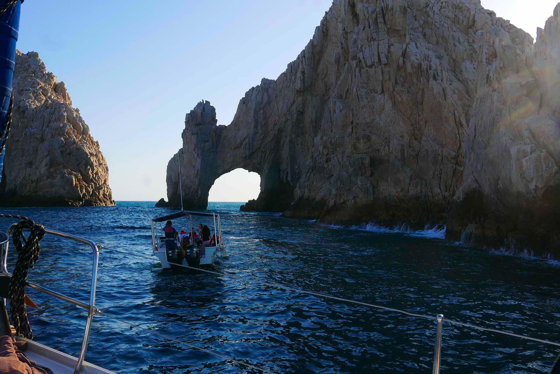 Os arcos de Los Cabos é uma das imperdíveis atrações naturais da região