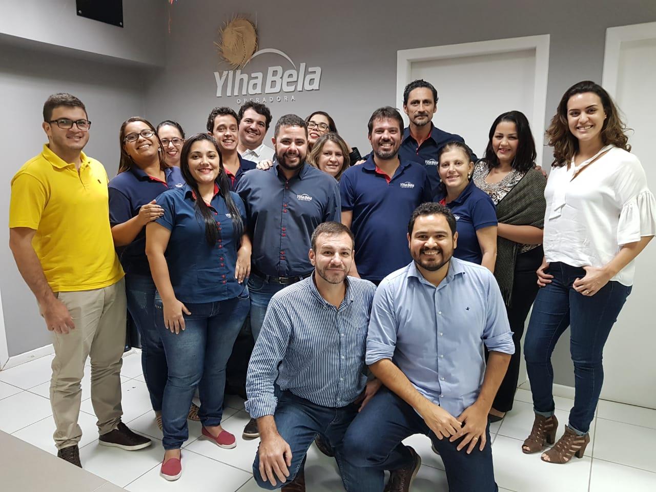 A cada dia maior equipe da Ylha Bela Operadora dá as boas-vindas ao time do Rio de Janeiro