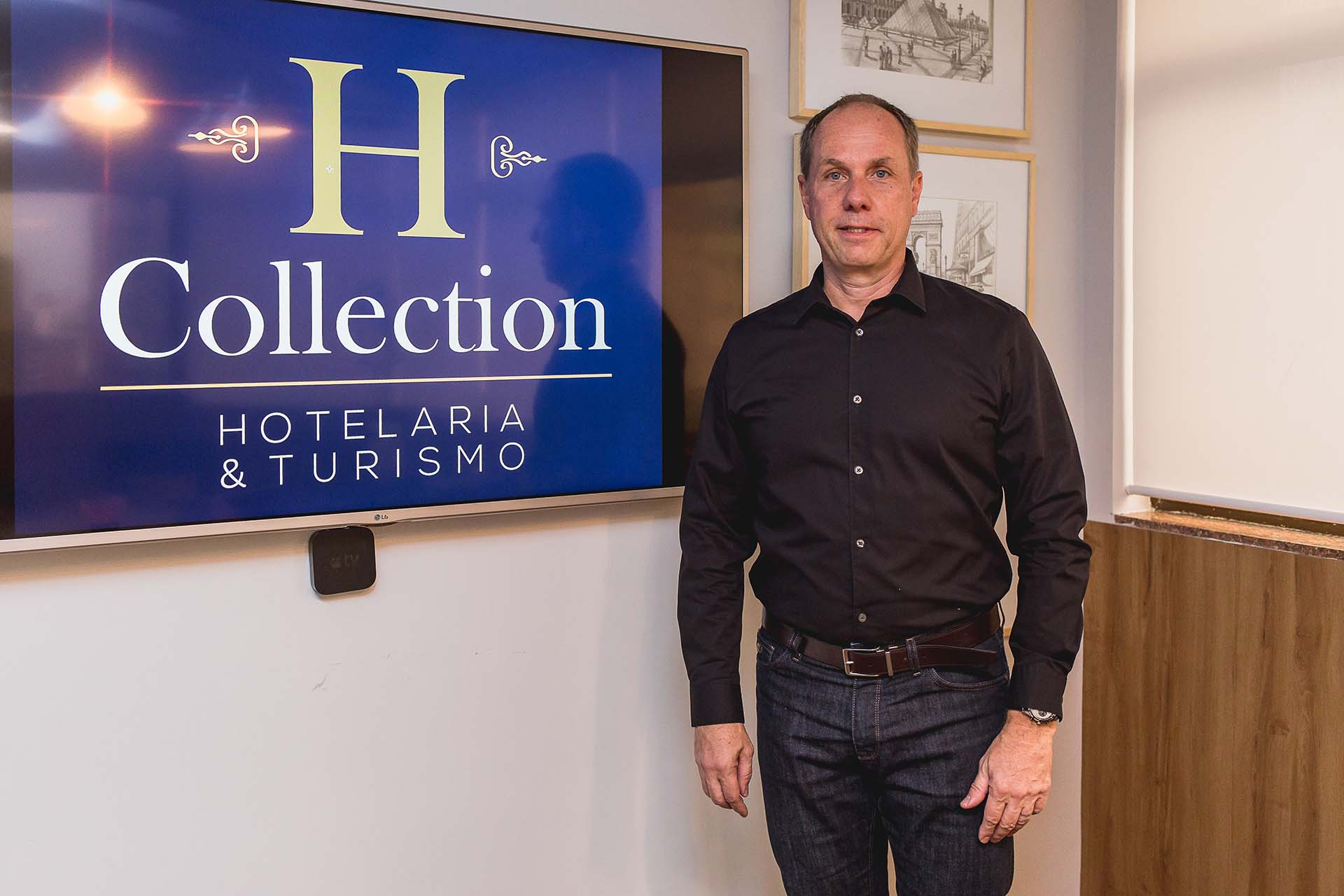 Bruno Bahia, diretor da H Collection