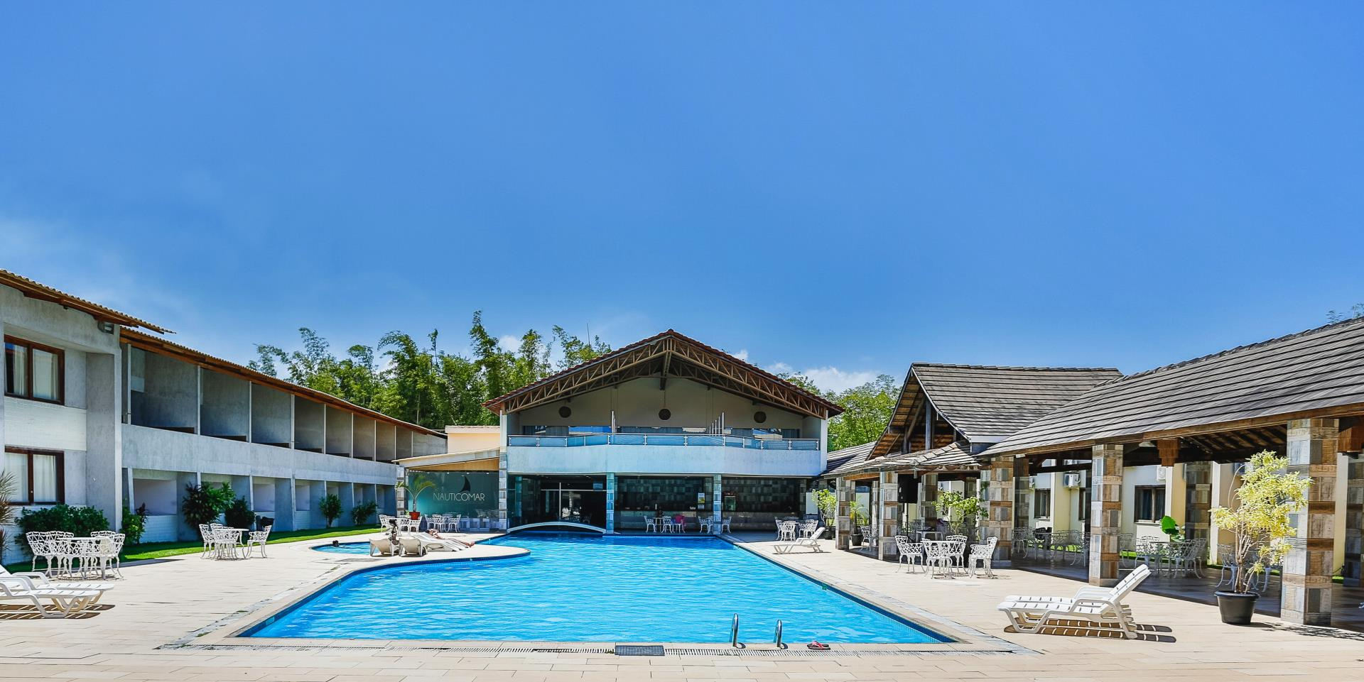 Piscina do Nauticomar All Inclusive Hotel & Beach Club