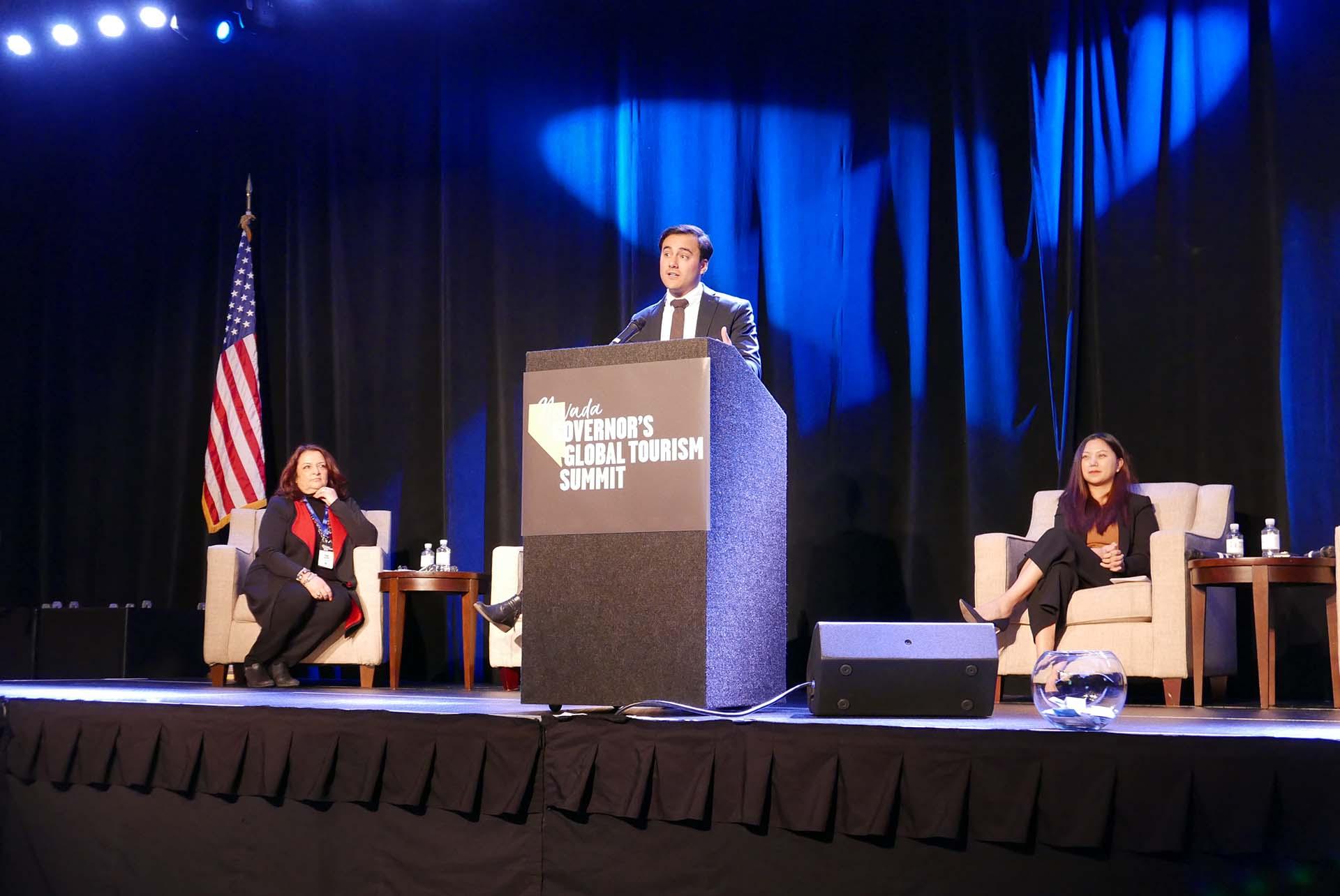 Joaquin Baena, representante para a América Latina do Travel Nevada