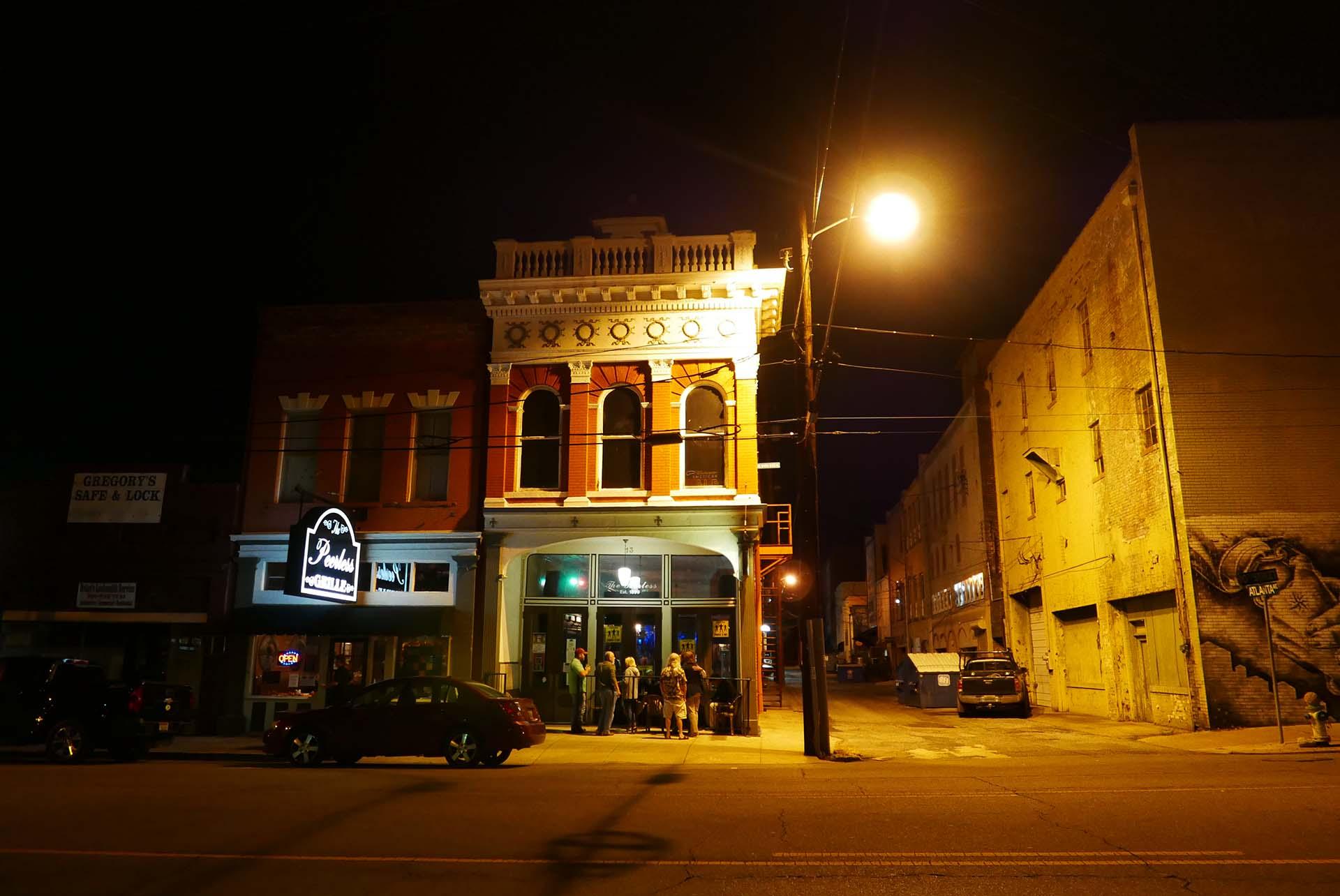 Peerless Saloon Anniston Civil Rights Trail