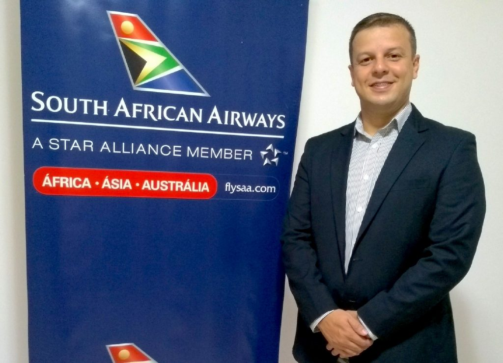 Fernando Cardoso é o novo executivo de vendas da South African Airways