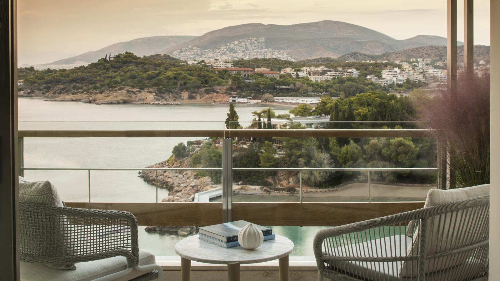 Vista do Four Seasons de Atenas