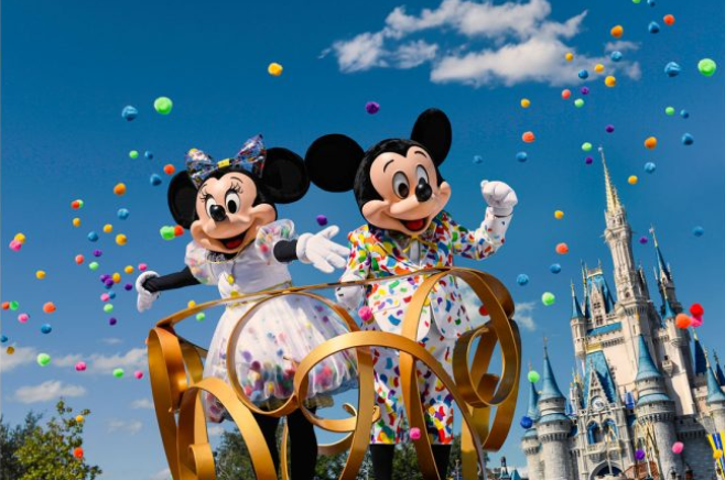 Mickey and Minnie Disney
