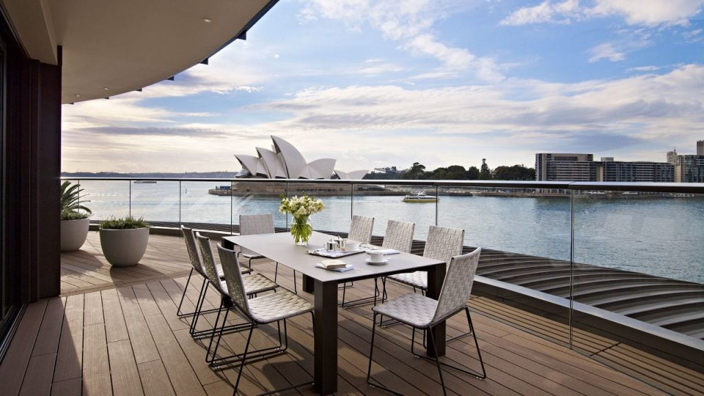 Vista do Park Hyatt Sidney