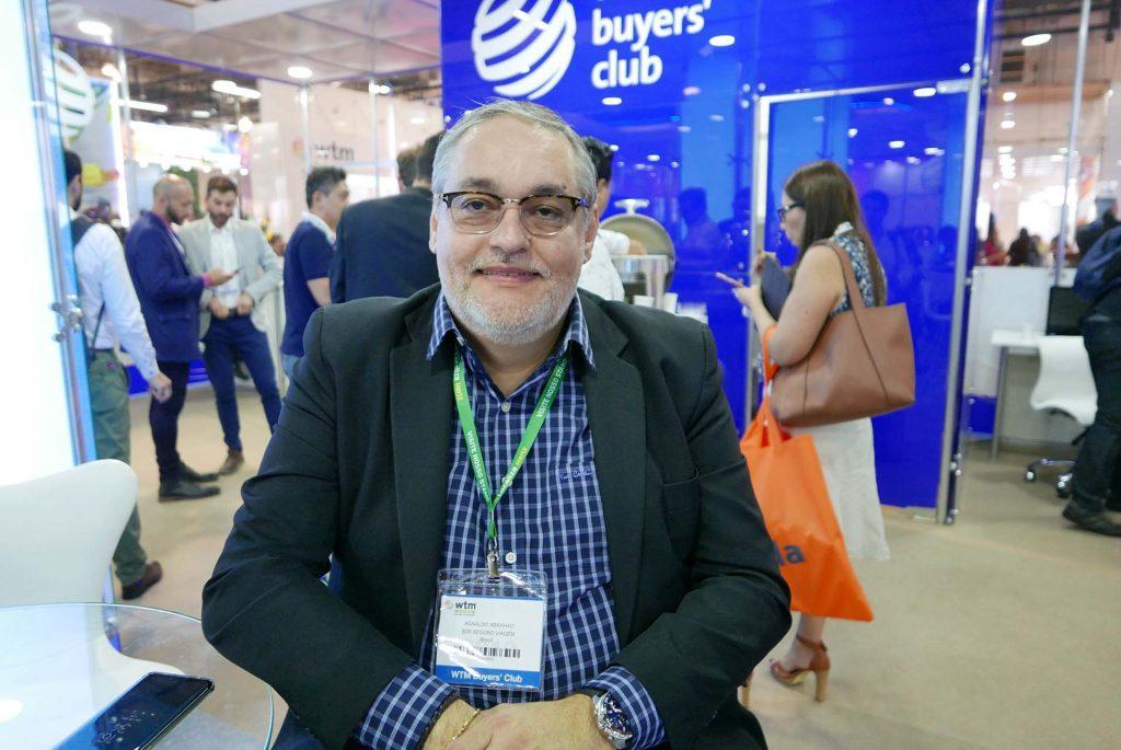 Agnaldo Abrahão, diretor e idealizador do Portal B2B Seguro Viagem Foto Claudia Tonaco