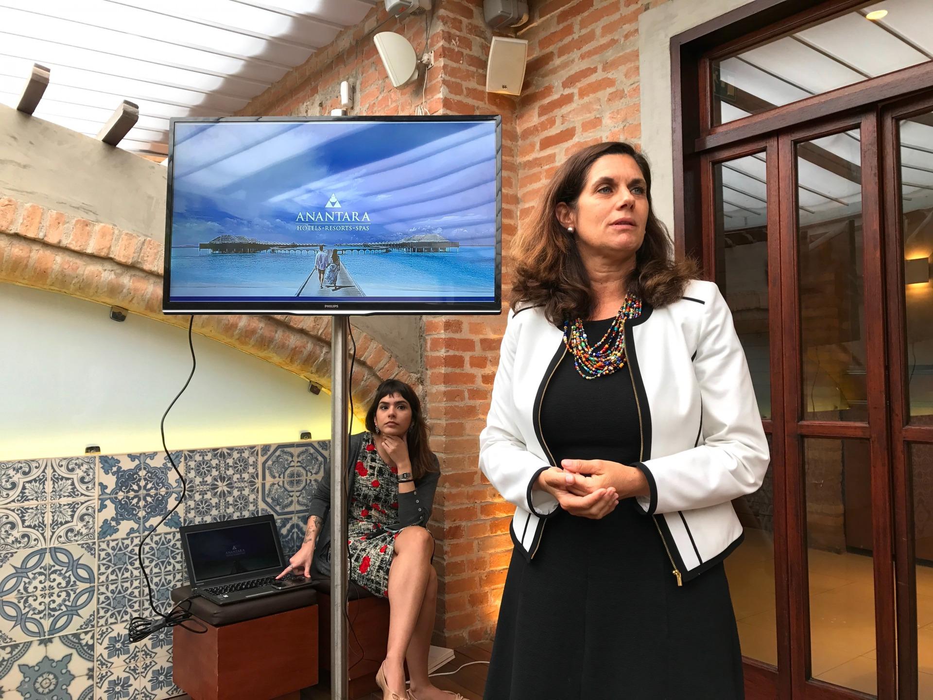 Em seguida foi a vez de Rita Machado apresentar todo o portfolio global da Minor Hotels e destacar as novidades da bandeira Tivoli em Portugal
